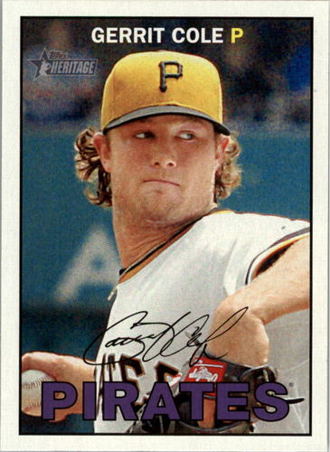 Photo of 2016 Topps Heritage #425A Gerrit Cole