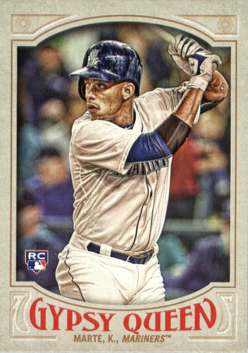 Photo of 2016 Topps Gypsy Queen #212 Ketel Marte RC