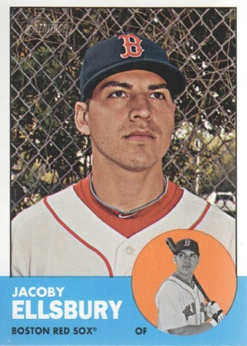 Photo of 2012 Topps Heritage #115A Jacoby Ellsbury
