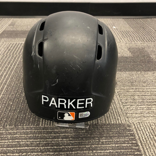 Photo of 2017 Game Used Batting Helmet worn by #6 Jarrett Parker on 9/11 vs. Los Angeles Dodgers - HR! - Size 7 5/8