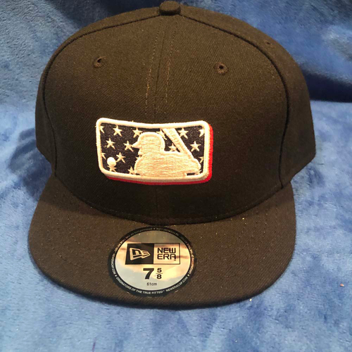 Photo of UMPS CARE AUCTION: MLB Specialty Stars Umpire Plate Cap, Size 7 5/8