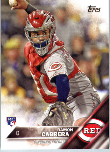 Photo of 2016 Topps #632 Ramon Cabrera RC