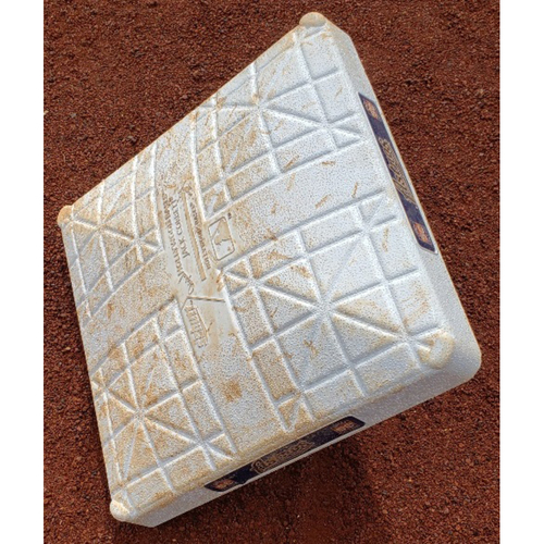 Photo of 2012 Game-Used Base  - Jimmy Rollins 400th Career Stolen Base