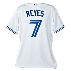 huge discount 4a1df ae7d5 Blue Jays Shop | Authentic Jose Reyes Home Jersey by Majestic