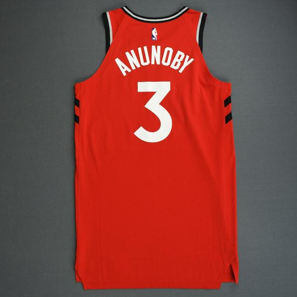 huge discount e9526 f8097 OG Anunoby - Toronto Raptors - 2018-19 Season - Canada ...