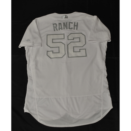 "Photo of Chaz ""RANCH"" Roe Tampa Bay Rays Game-Used 2019 Players' Weekend Jersey"