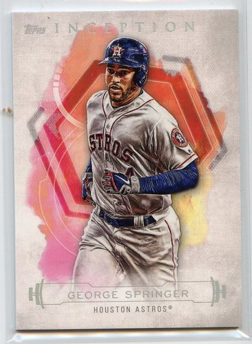 Photo of 2019 Topps Inception #24 George Springer