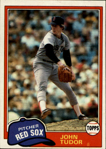 Photo of 1981 Topps #14 John Tudor RC