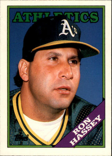 Photo of 1988 Topps Traded #46T Ron Hassey