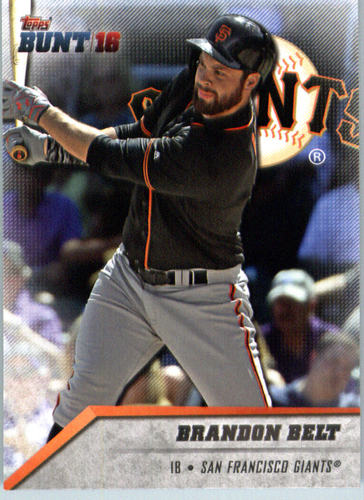 Photo of 2016 Topps Bunt #78 Brandon Belt