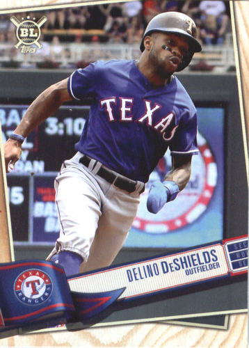 Photo of 2019 Topps Big League #127 Delino DeShields