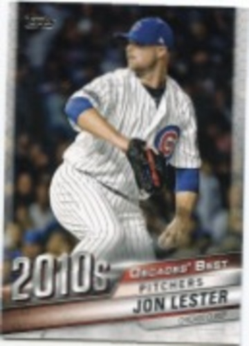 Photo of 2020 Topps Decades' Best Series 2 #DB100 Jon Lester