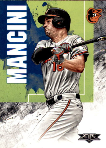 Photo of 2019 Topps Fire #110 Trey Mancini