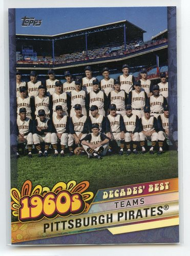 Photo of 2020 Topps Decades' Best Blue #DB21 Pittsburgh Pirates