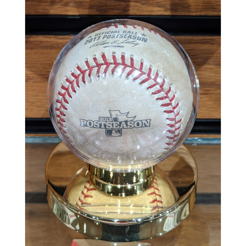 Photo of 2013 ALDS Game 1 October 4, 2013 Red Sox vs. Rays Game Used Baseball