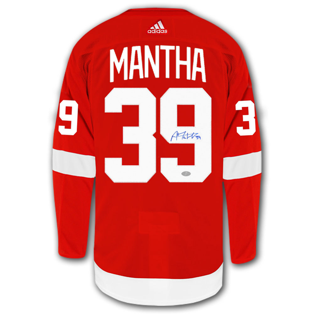 Anthony Mantha Detroit Red Wings Adidas Pro Autographed Jersey