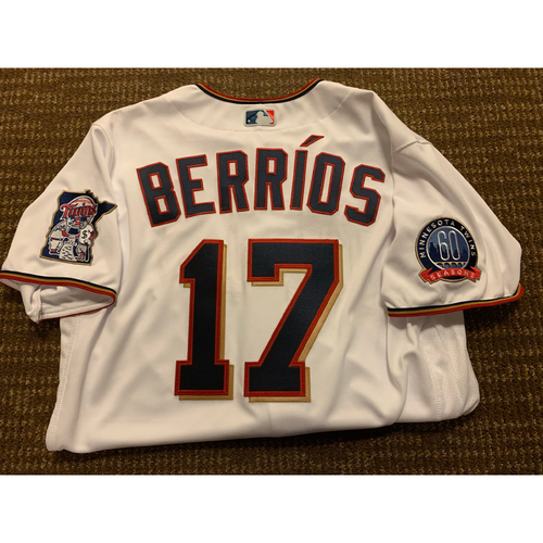 Photo of Jose Berrios 2020 Team-Issued Jersey