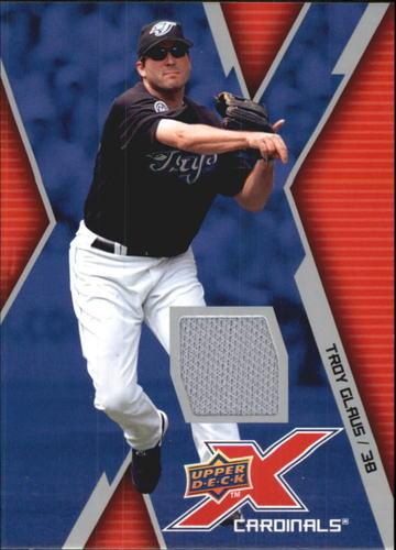 Photo of 2009 Upper Deck X Memorabilia #TG Troy Glaus