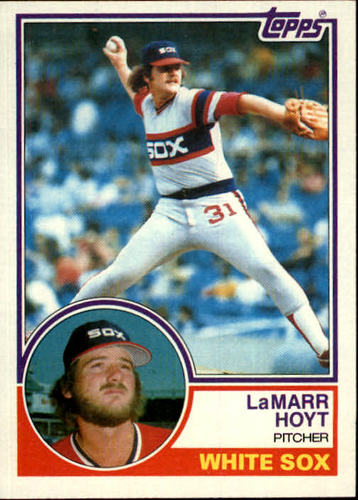 Photo of 1983 Topps #618 LaMarr Hoyt