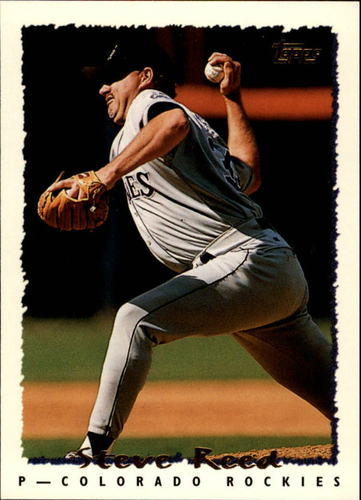 Photo of 1995 Topps #321 Steve Reed