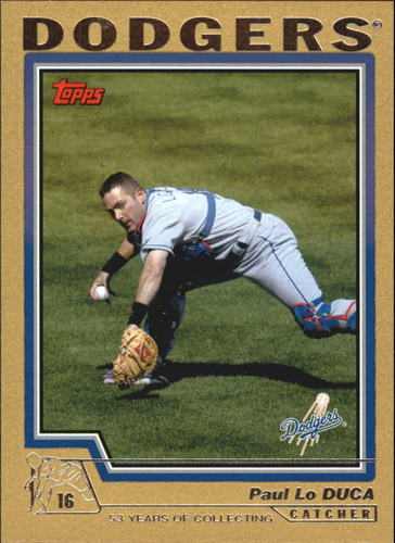 Photo of 2004 Topps Gold #58 Paul Lo Duca