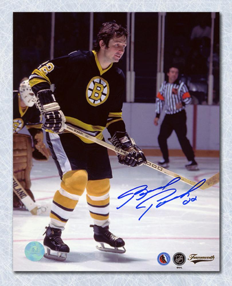 Brad Park Boston Bruins Autographed Defenceman 8x10 Photo