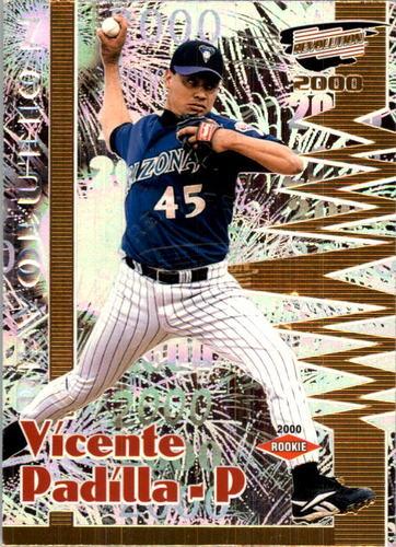 Photo of 2000 Revolution Premiere Date #10 Vicente Padilla