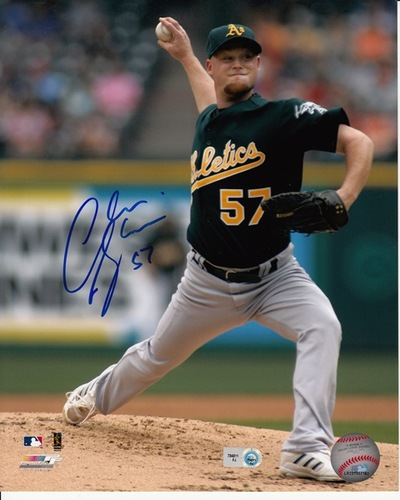 Chad Gaudin Autographed 8x10