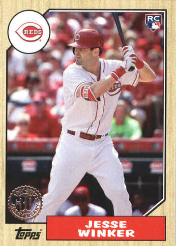 Photo of 2017 Topps Update '87 Topps #US8727 Jesse Winker