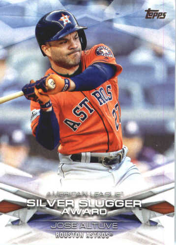 Photo of 2018 Topps MLB Awards #MLBA37 Jose Altuve