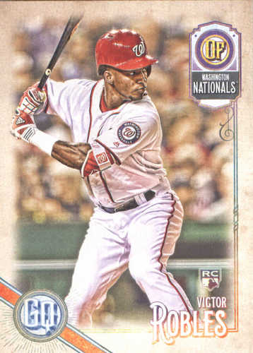 Photo of 2018 Topps Gypsy Queen #254 Victor Robles RC