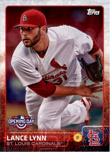 Photo of 2015 Topps Opening Day #97 Lance Lynn
