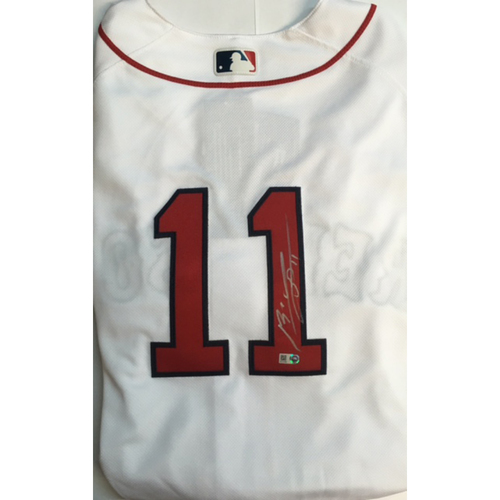 Photo of Rafael Devers Autographed Authentic Red Sox Jersey