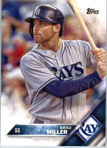Photo of 2016 Topps #646 Brad Miller
