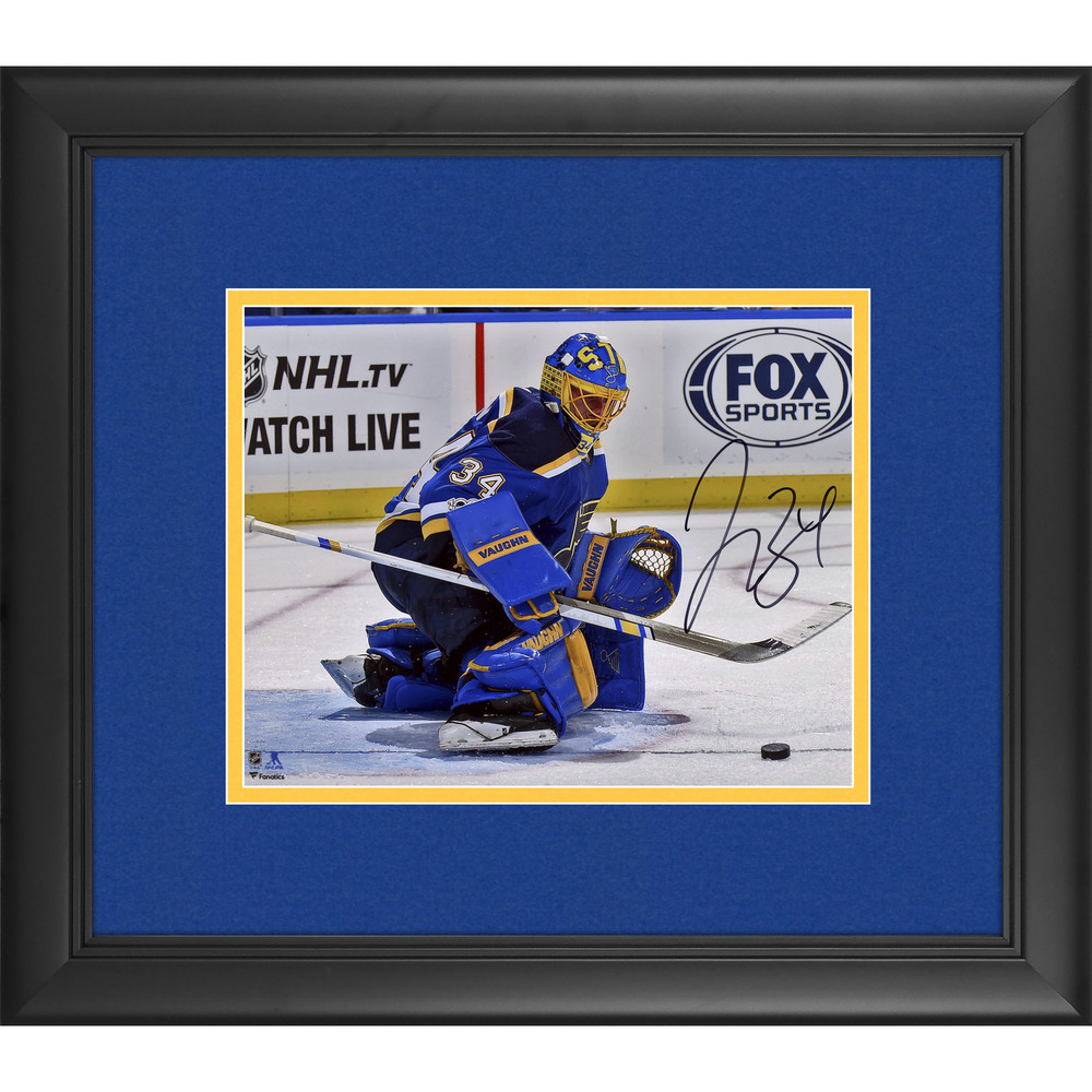 Jake Allen St. Louis Blues Framed Autographed 8
