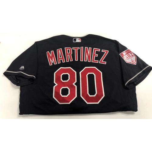 Henry Martinez Game Used 2019 Spring Training Jersey