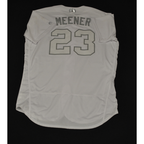 "Photo of Mike ""Meener"" Minor Texas Rangers Game-Used 2019 Players' Weekend Jersey"