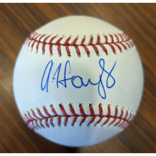 Photo of Austin Hays - Autographed Baseball