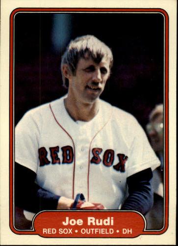 Photo of 1982 Fleer #306 Joe Rudi
