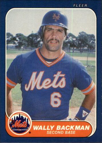 Photo of 1986 Fleer #75 Wally Backman