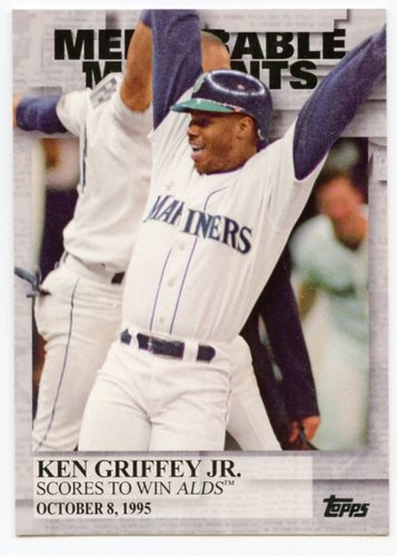 Photo of 2017 Topps Memorable Moments #MM28 Ken Griffey Jr.