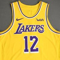 Devontae Cacok - Los Angeles Lakers - NBA China Games - Game-Worn Icon Edition Jersey - 2019-20 NBA Season