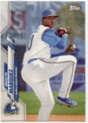 Photo of 2020 Topps Pro Debut #PD24 Brailyn Marquez