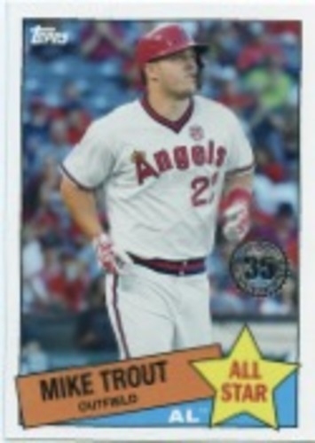 Photo of 2020 Topps '85 Topps All Stars #85AS1 Mike Trout