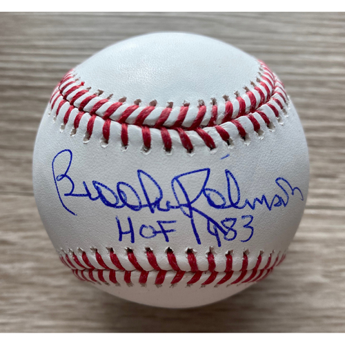 Brooks Robinson Autographed Baseball - NOT MLB Authenticated - Certificate of Authenticity Included