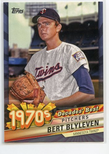 Photo of 2020 Topps Decades' Best Blue #DB38 Bert Blyleven
