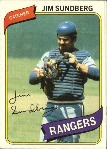 Photo of 1980 Topps #530 Jim Sundberg DP