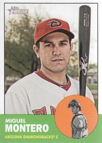 Photo of 2012 Topps Heritage #153 Miguel Montero