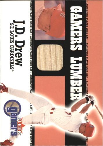 Photo of 2000 Fleer Gamers Lumber #15 J.D. Drew