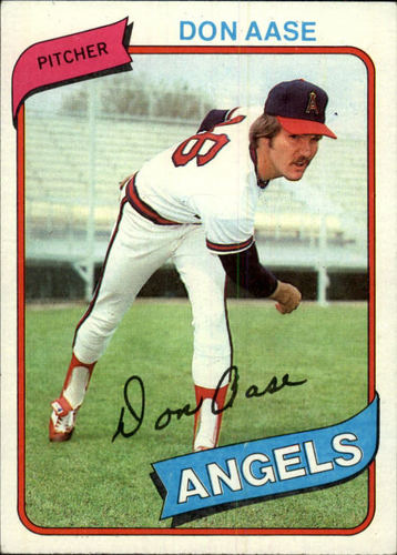 Photo of 1980 Topps #239 Don Aase